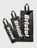 F.C. Real Bristol 3 Pouch Kit Black Men