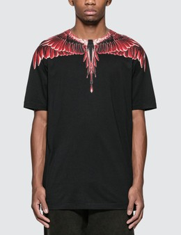 Marcelo Burlon Red Ghost Wings T-Shirt