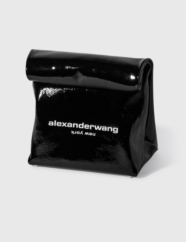 Alexander Wang Lunch Bag Clutch Black Women