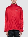 Champion Reverse Weave Track Jacket With Snap Details 사진