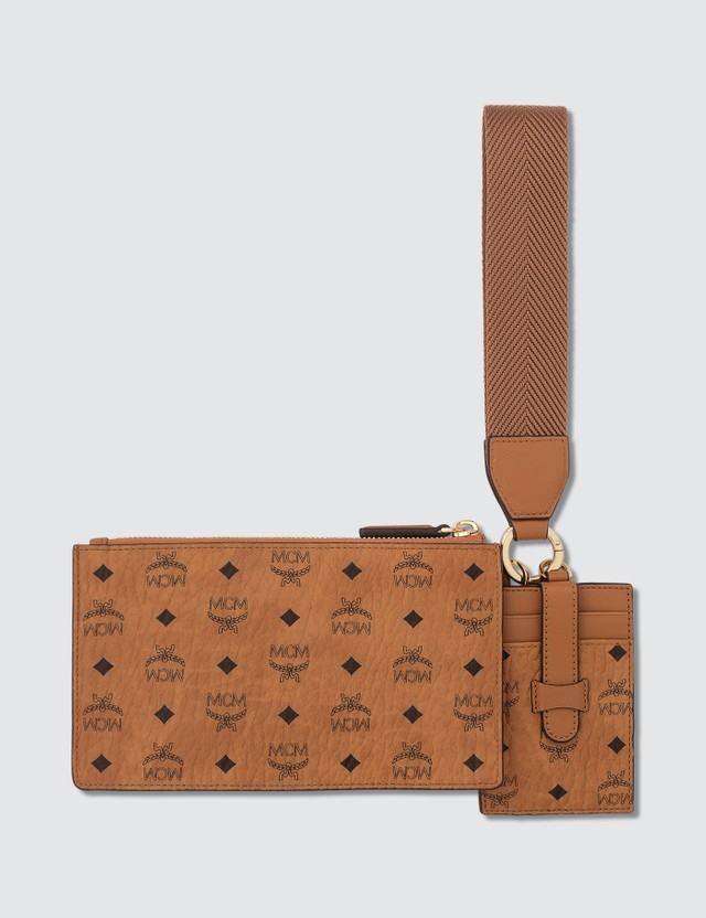 MCM Multifunction Pouch in Visetos