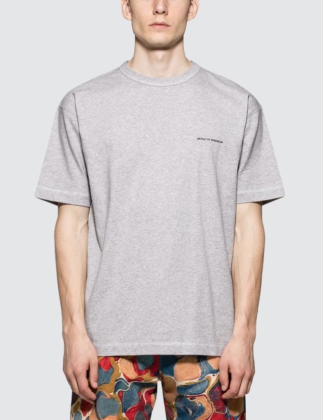 Drôle de Monsieur Logo Classic S/S T-Shirt
