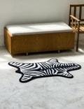 Jonathan Adler Black Zebra Reversible Bathmat Black Life