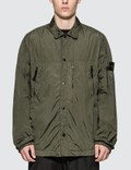 Stone Island Button Up Over Shirt Picture