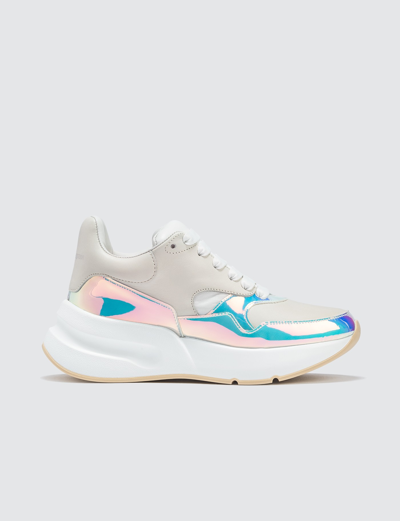 Chunky Sneakers with Metallic Lining