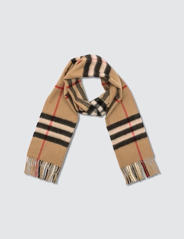 Burberry Giant Cashmere Check Scarf