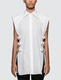 Helmut Lang Buckled Shirt.crisp Picture