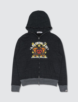BAPE Bape Zip-up Hoodie Grey