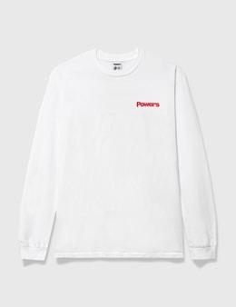 Powers Get A Grip Shop Long Sleeve T-shirt