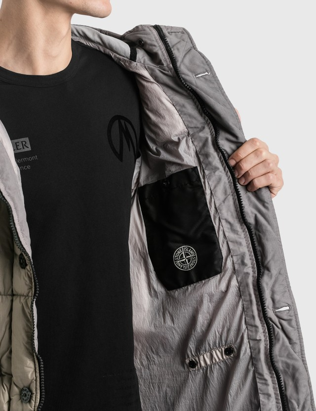 Stone Island Garment Dyed Crinkle Reps NY Down Parka