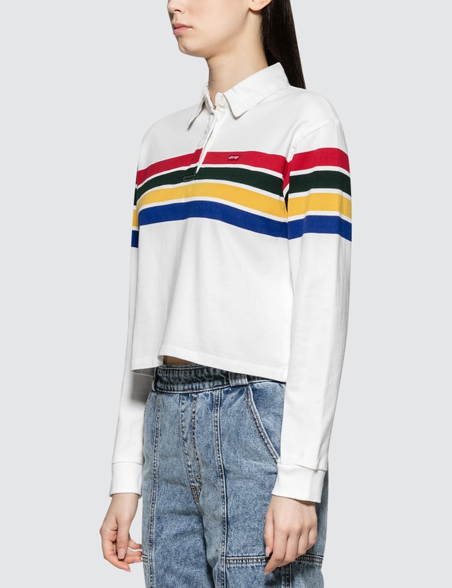 Levi's Rugby Crop Polo Shirt