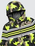 MSGM Camo Ripstop Panel Jacket