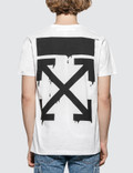 Off-White Bart Peace Sign S/S Slim T-Shirt Picture