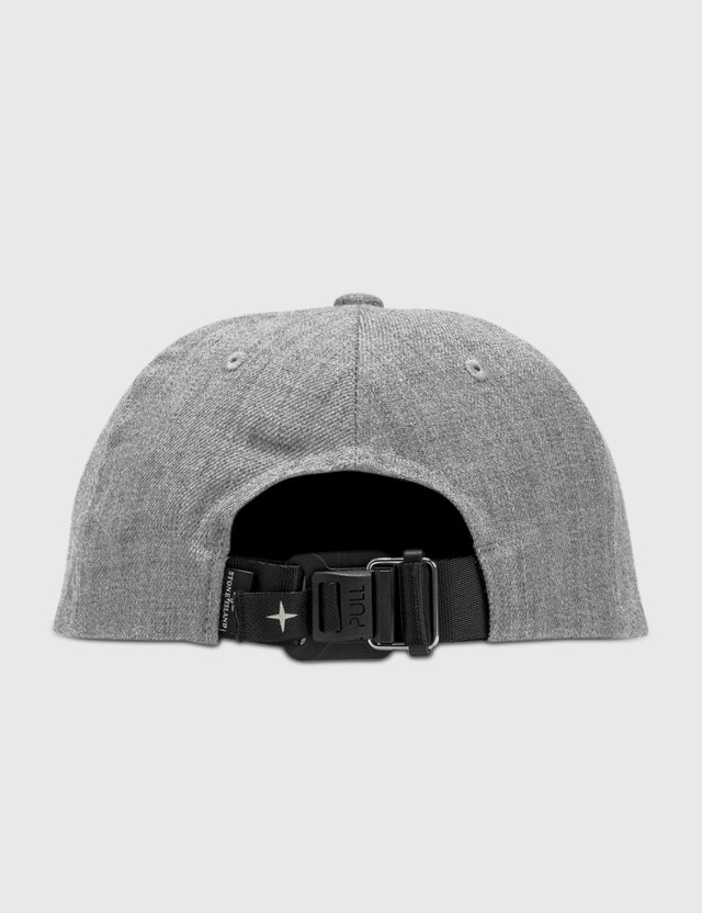Stone Island Embroidered Compass Logo Cap