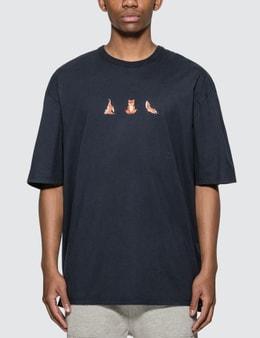 Maison Kitsune Yoga Fox Print T-shirt