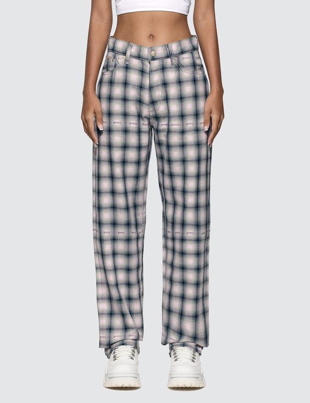 Eytys Benz Tartan Blush Jeans