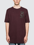 Faith Connexion PR Oversized Burgundy S/S T-Shirt Picture