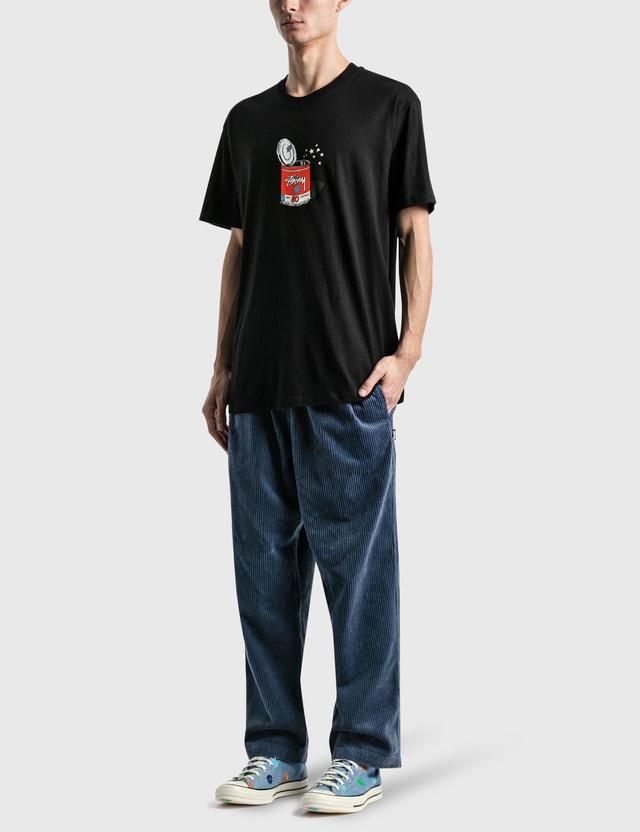 Stussy Pop Top 티셔츠 Black Men