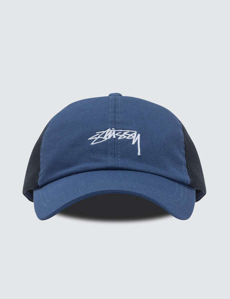 스투시 Stussy Stock Low Pro Trucker Cap