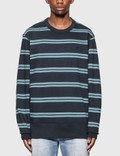 Acne Studios Oversized Stripe Sweatshirt 사진