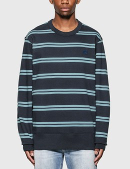 Acne Studios Oversized Stripe Sweatshirt