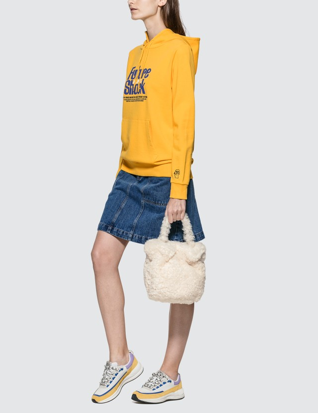 Staud Shearling Grace Bag