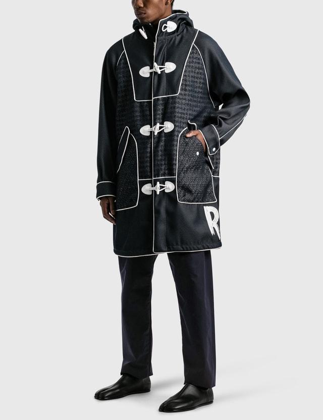 Emporio Armani NewLife Nylon Trench Coat Mix Fant. Blu Men