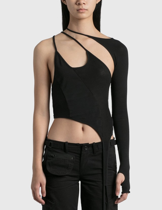 Hyein Seo Tank Top With Sleeve Black Women