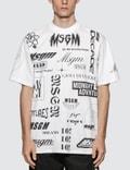 MSGM Multi Logo T-Shirt Picutre
