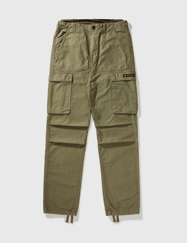 NEIGHBORHOOD Neighborhood Mdns Mil-bdu Solid Cargo Pants Olive Green Archives