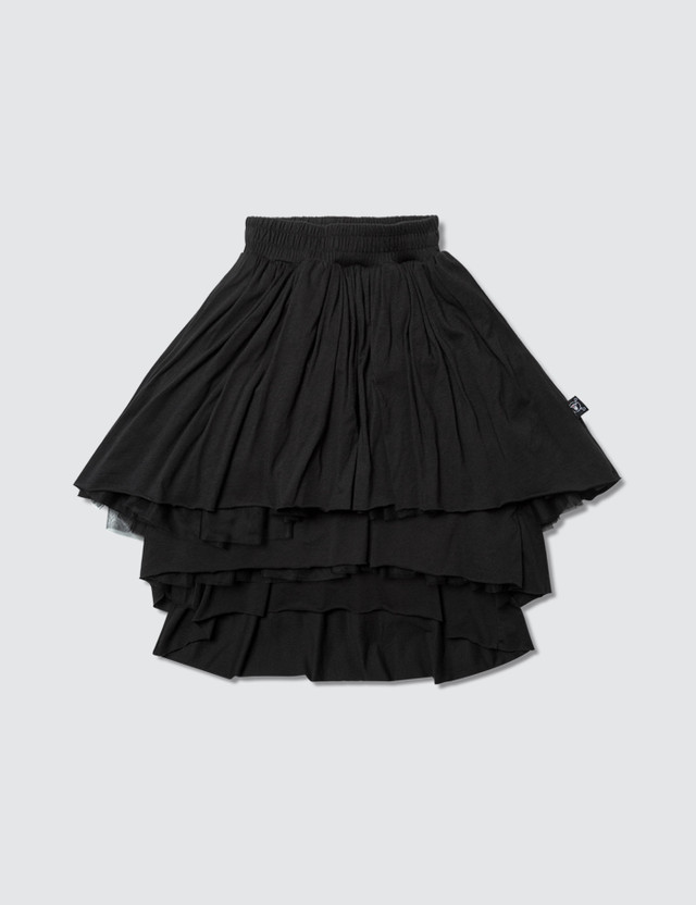 NUNUNU Layered Tulle Skirt Black Girls
