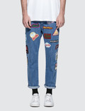 GCDS 5 Pocket Patch Jeans Picture