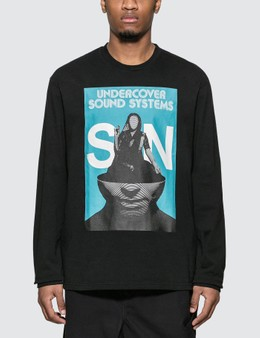 Undercover Sound System Print Long Sleeve T-Shirt