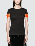Helmut Lang Shiny Cuff S/S T-Shirt Picture