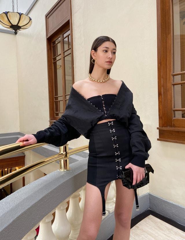 Dion Lee Corset Garter Skirt