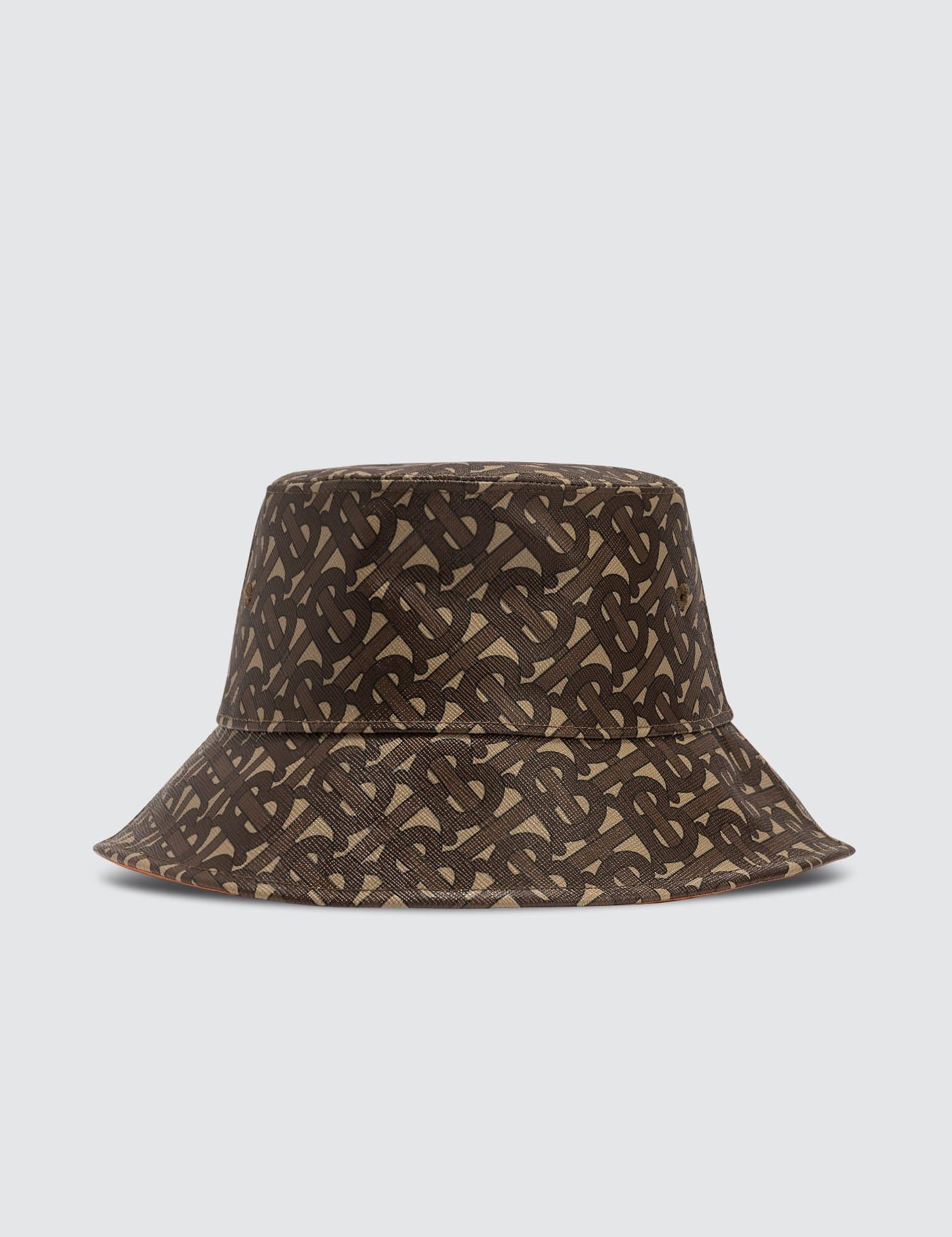 버버리 Burberry Monogram Print Bucket Hat