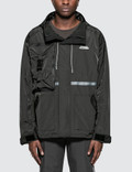 C2H4 Los Angeles Utility Concealed Pocket Data Cable Windbreaker Picutre