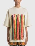 Palm Angels Palm Angels x Missoni Embroidered Tassel T-Shirt 사진