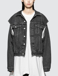 MM6 Maison Margiela Stone Wash Denim Jacket Picture