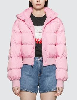 MSGM Basic Short Down Jacket