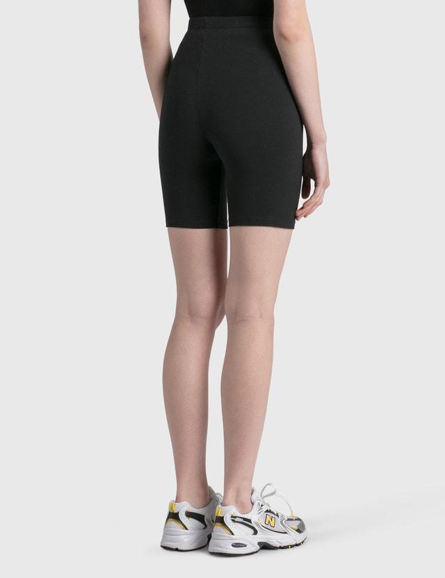 Sporty & Rich Classic Logo Biker Shorts