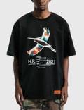 Heron Preston Rainbow Heron Print T-shirt Picture