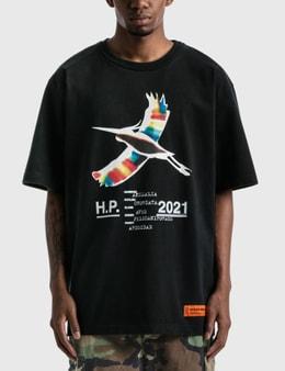 Heron Preston Rainbow Heron Print T-shirt