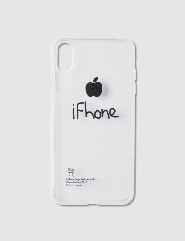 Urban Sophistication Ifhone Iphone Cover Clear Unisex