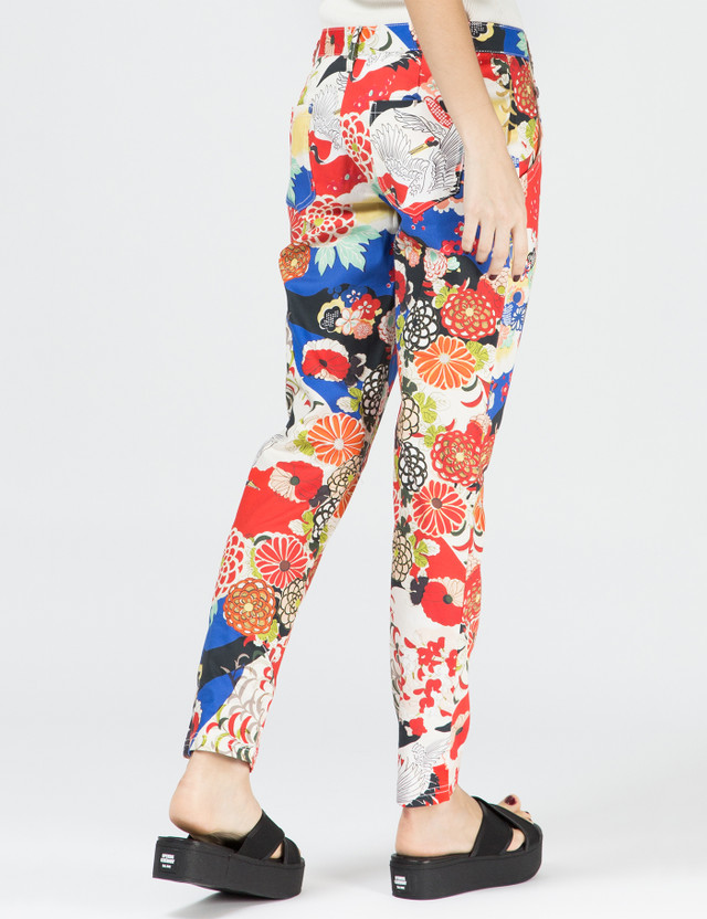 CARVEN Multicolor Printed Chino Pants