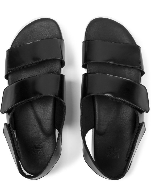 Wood Wood Black Kiki Sandal Shoes