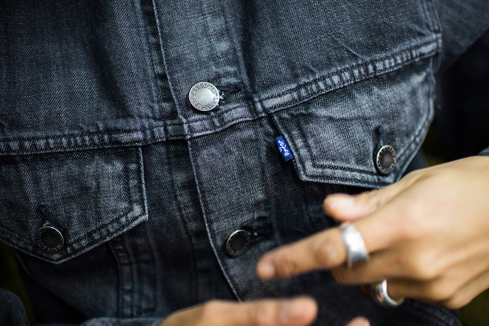 Levi's Made & Crafted 2016 Fall/Winter Collection Lily Bertrand-Webb