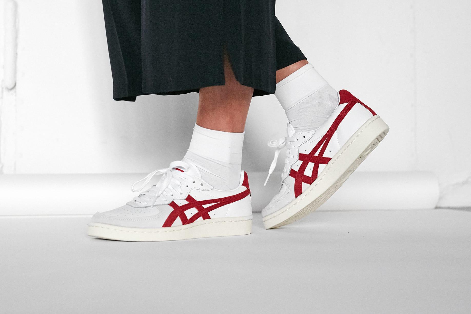 asics gsm on feet
