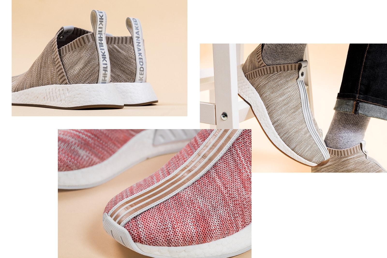 official photos 551da 8d085 KITH x NAKED Present the adidas Consortium NMD CS2 | HYPEBAE