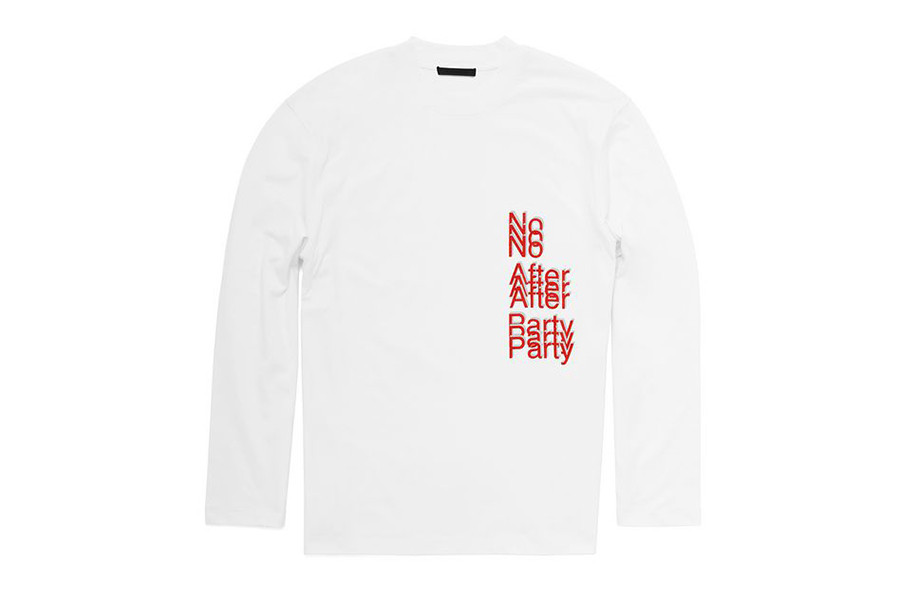 Alexander Wang 2017 No After Party Capsule Collection